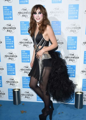 Suki Waterhouse - UNICEF UK Halloween Ball in London
