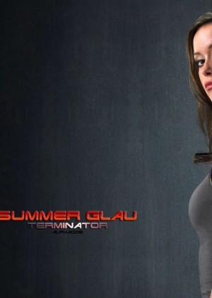 Summer Glau: Hot Widescreen Wallpapers -14