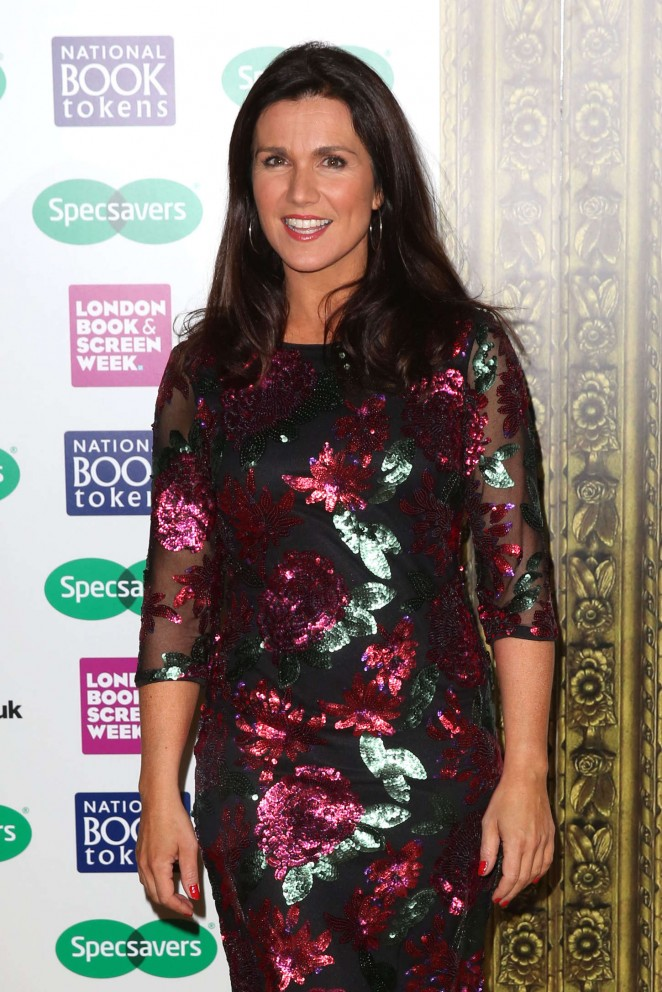 Susanna Reid - Specsavers National Book Awards in London