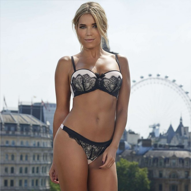 Sylvie Meis: Hunkemoller-Dessous 2014 The Sylvie Collection -12