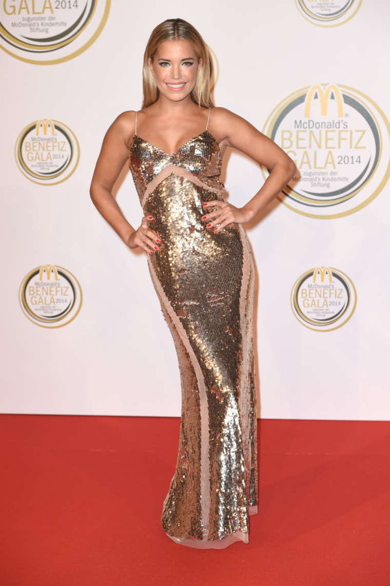 Sylvie Meis - McDonald's Charity Gala in Weissach