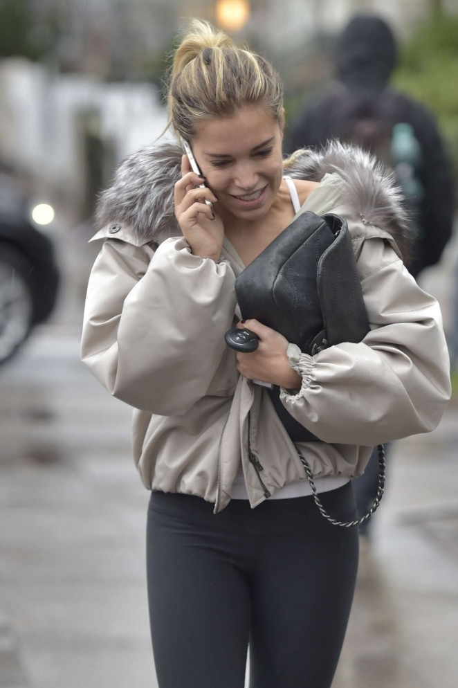 Sylvie Meis in Tight Leggings -10