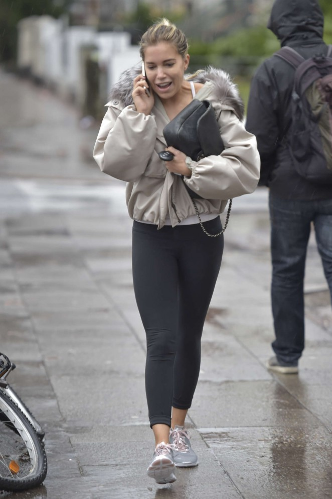 Sylvie Meis in Tight Leggings -12