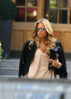 Sylvie Meis in Leather Shorts -27