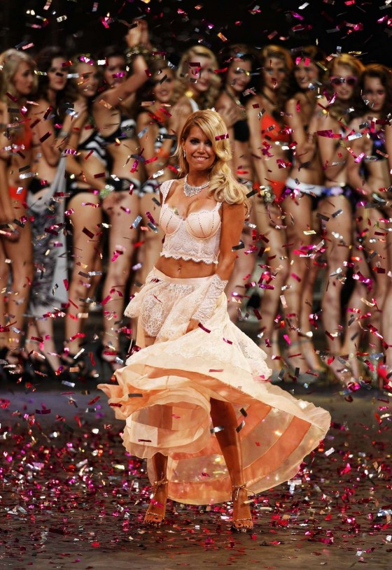 Sylvie van der Vaart - 2012 Mercedes-Benz Fashion Week 2013