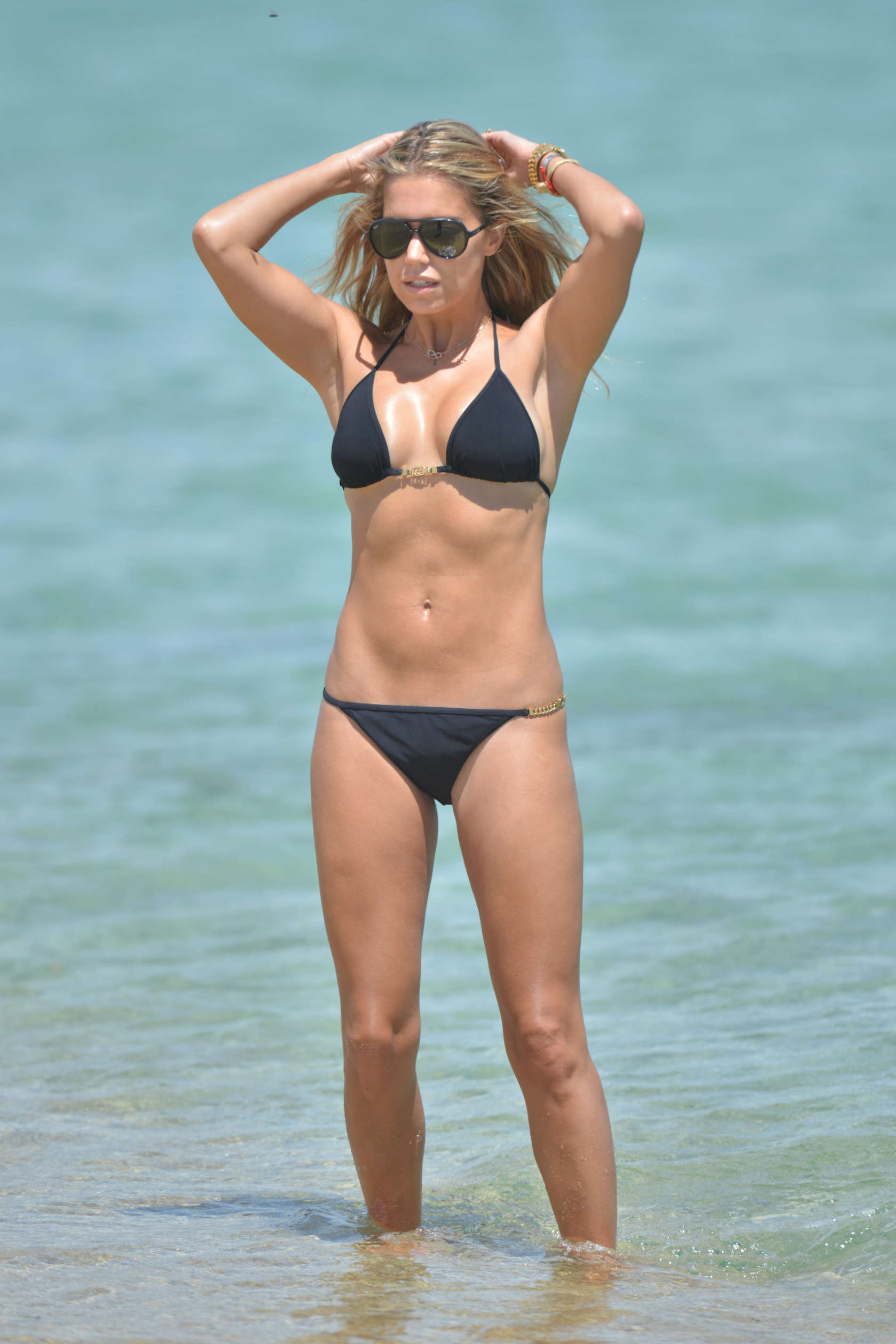 Sylvie Van Der Vaart Bikini Candids On The Beach In St Tropez 25 GotCeleb