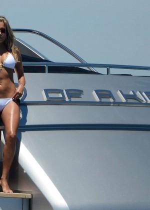 Sylvie van der Vaart in Bikini -15