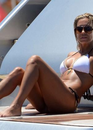 Sylvie van der Vaart in Bikini -30