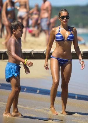 Sylvie van der Vaart Bikini Photos: in St. Tropez -07