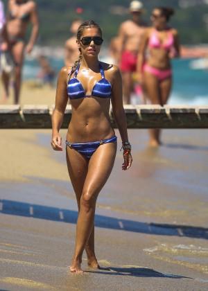 Sylvie van der Vaart Bikini Photos: in St. Tropez -09