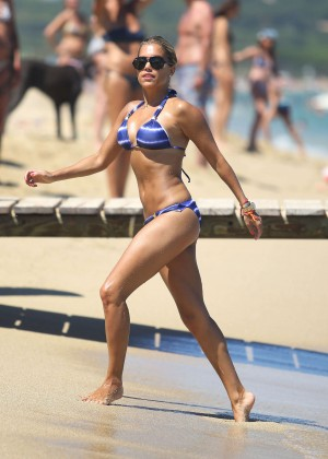 Sylvie van der Vaart Bikini Photos: in St. Tropez -17