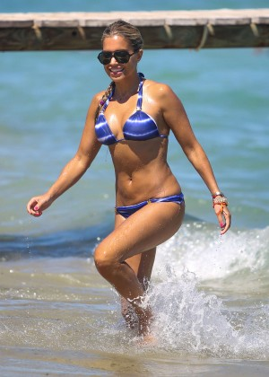 Sylvie van der Vaart Bikini Photos: in St. Tropez -37