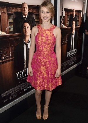 "Taissa Farmiga - ""The Judge"" Premiere in LA"