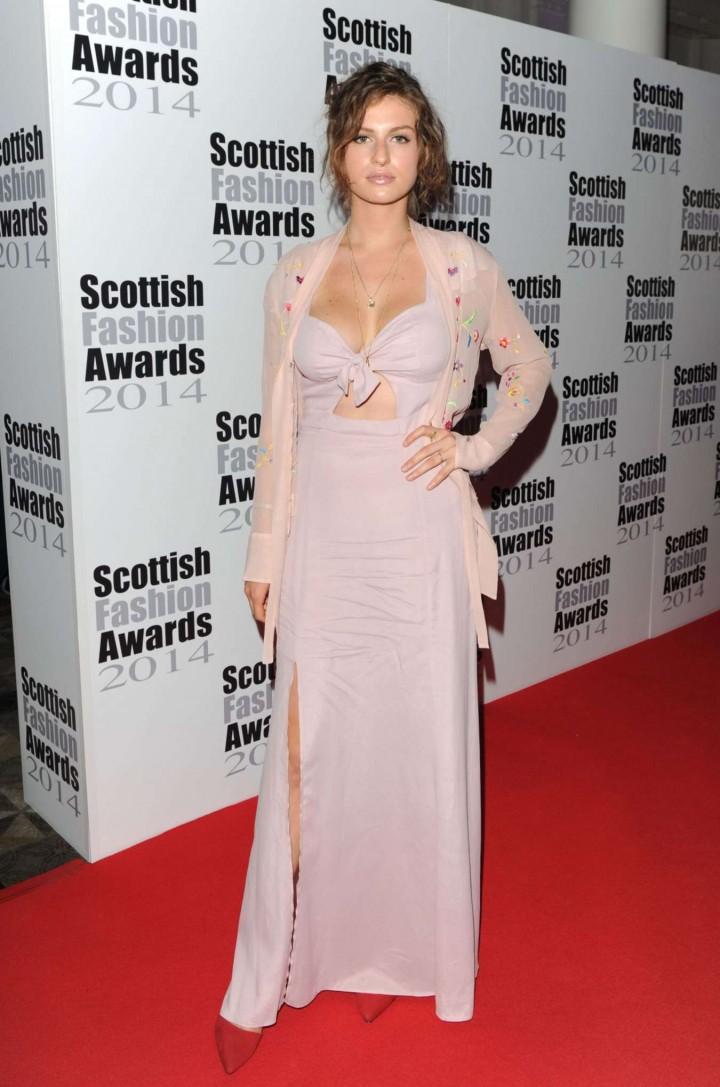 Tali Lennox - 2014 Scottish Fashion Awards in London