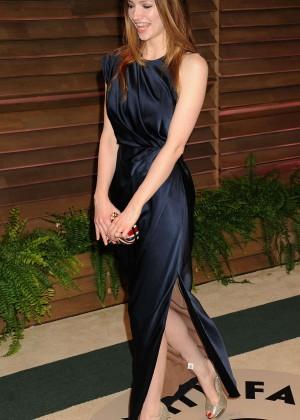 Talulah Riley: Oscar 2014 - Vanity Fair Party -01