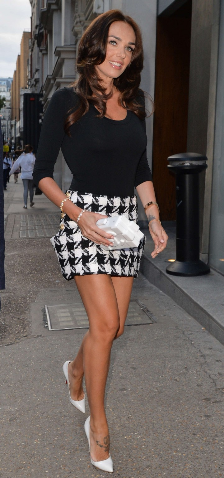 Tamara Ecclestone Arriving at Nobu Restaurant in London