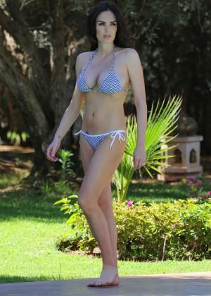 Tamara Ecclestone Bikini: 2014 in Morocco -03