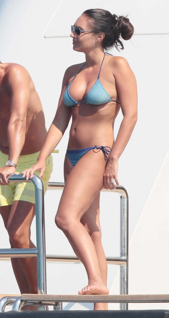 Tamara Ecclestone in Bikini on the Silver Angel Yacht in St Tropez-08