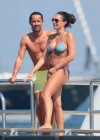 Tamara Ecclestone in Bikini on the Silver Angel Yacht in St Tropez-15