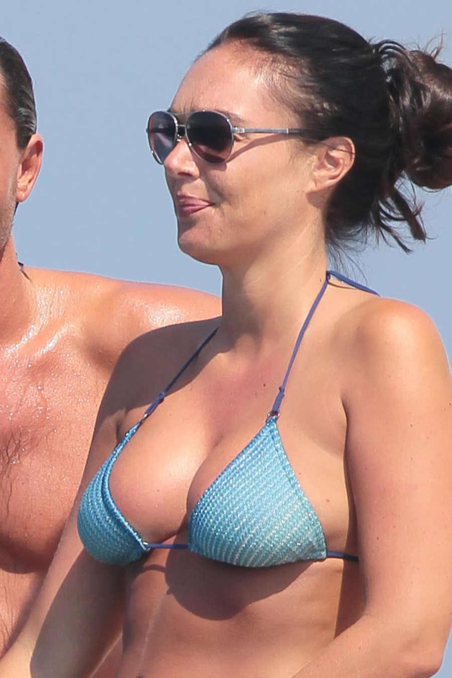 Tamara Ecclestone in Bikini on the Silver Angel Yacht in St Tropez-17