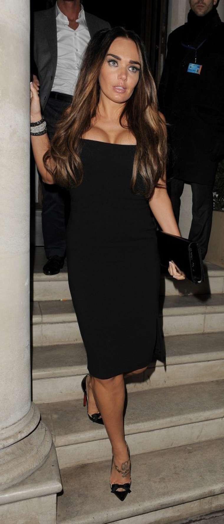 Tamara Ecclestone In Black Dress -05 - GotCeleb Rihanna