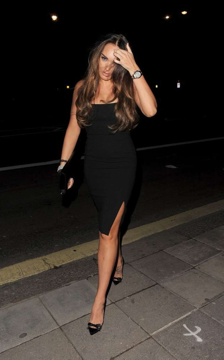 Tamara Ecclestone In Black Dress -06 - GotCeleb