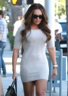 Tamara Ecclestone Looking Hot In Tight dress in Beverly Hills
