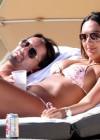 Tamara Ecclestone In pink bikini In Miami -31