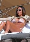 Tamara Ecclestone In pink bikini In Miami -33