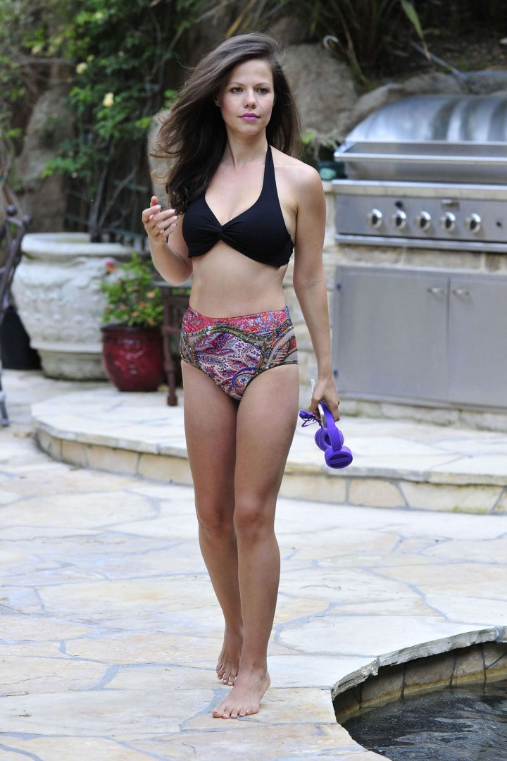 Tammin Sursok in Bikini: LA 2014 -02