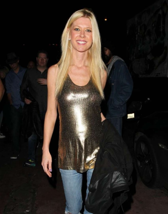Tara Reid - Leaving the Roxy Nightclub in West Hollywood