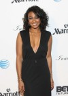 Tatyana Ali Looking Stunning in black dress at 2013 BET Inagural Ball in Washington