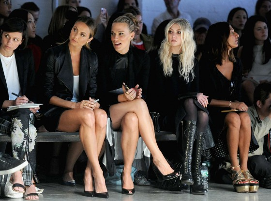 Taylor Momsen – Helmut Lang Fashion Show in New York