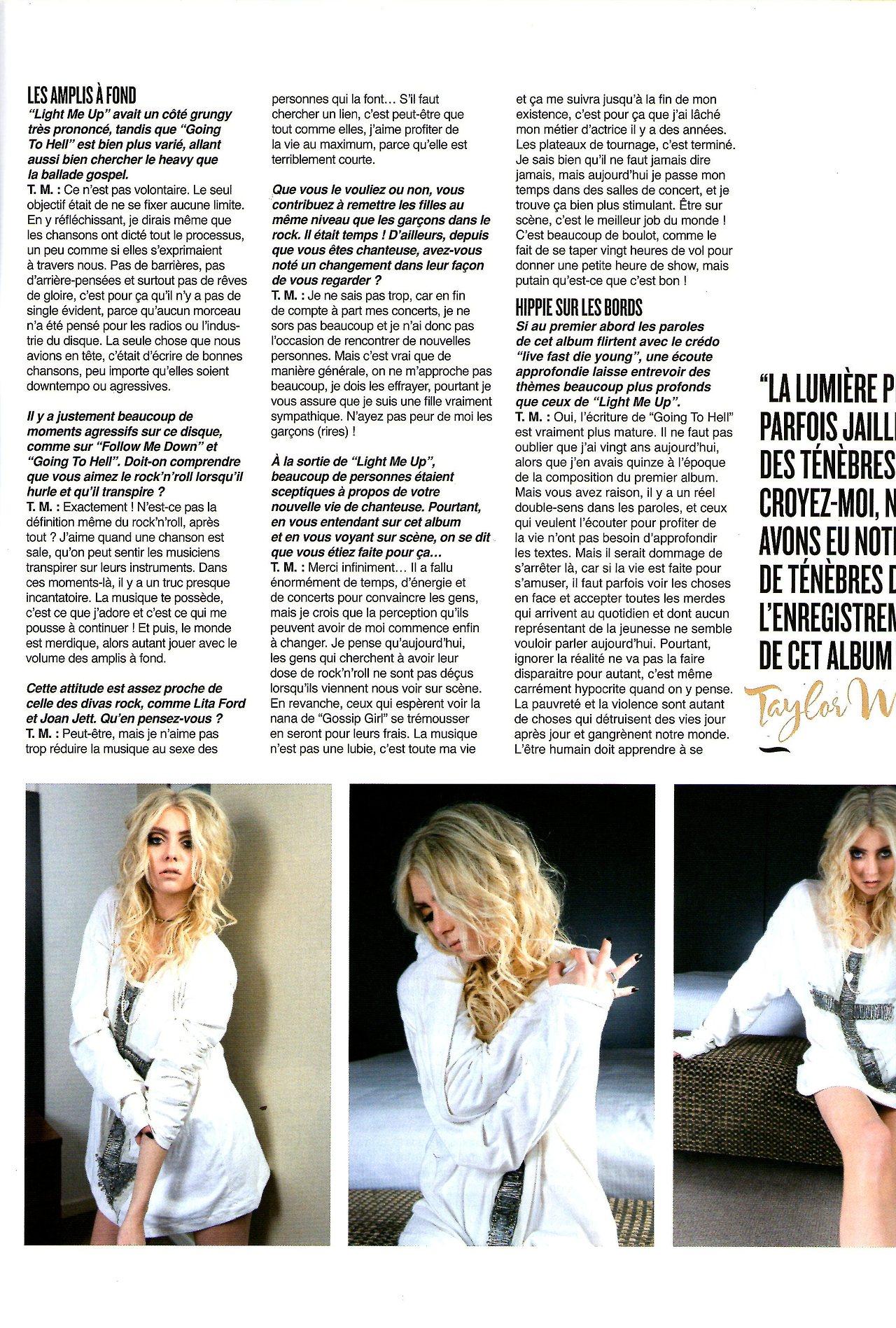 Taylor Momsen 2014 : Taylor Momsen: MyRock Magazine -06