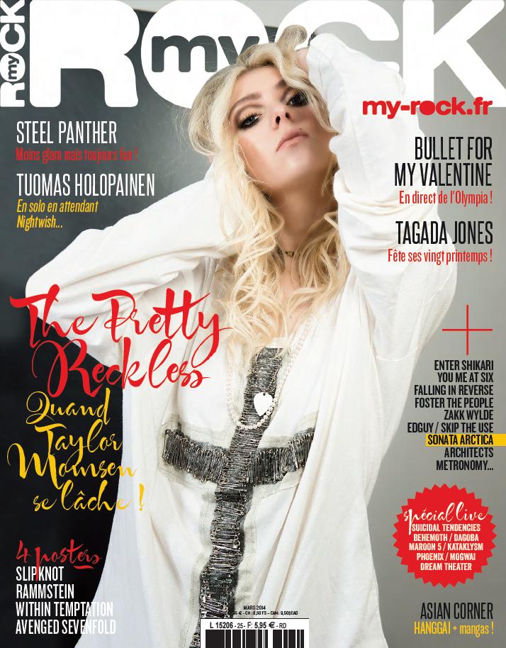 Taylor Momsen 2014 : Taylor Momsen: MyRock Magazine -13