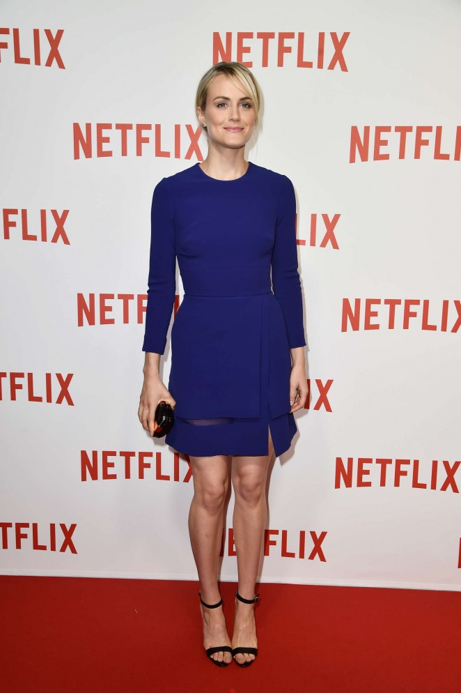"Taylor Schilling - ""Netflix"" Launch Party at Le Faust In Paris"