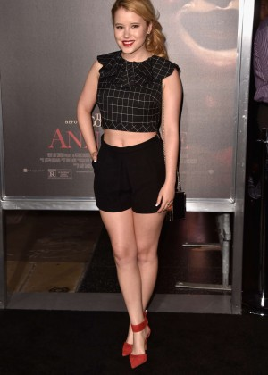 "Taylor Spreitler - ""Annabelle"" Screening in Hollywood"