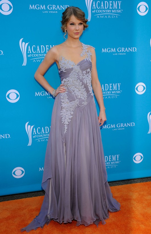 Taylor Swift At 45th Annual Academy Of Country Music Awards
