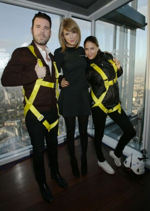 Taylor Swift at Capitol One Radio in London