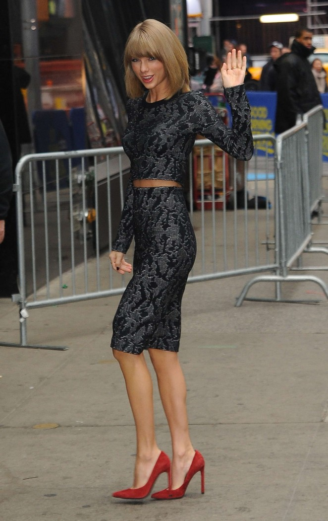 Taylor Swift at Good Morning America in NYC