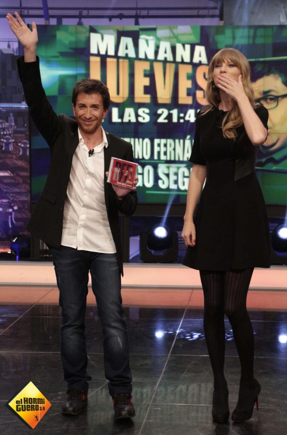 Taylor Swift at El Hormiguero -04
