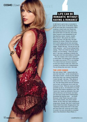 Taylor Swift - Cosmopolitan South Africa Magazine (December 2014)