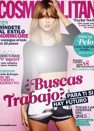 Taylor Swift - Cosmopolitan Spain Magazine (January 2015)