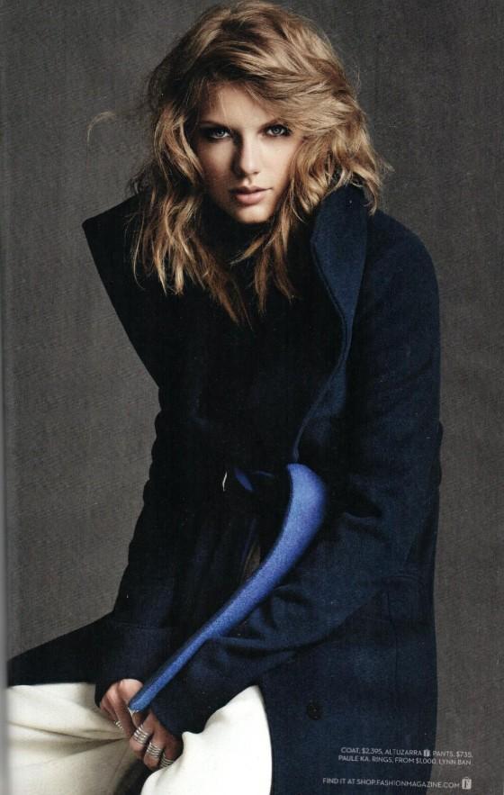 Taylor Swift - Fashion Canada Magazine (November 2014)