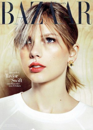 Taylor Swift - Harper's Bazaar Germany Magazine Cover (November 2014)