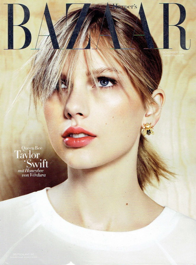 Taylor Swift: Harpers Bazaar Germany 2014 -01