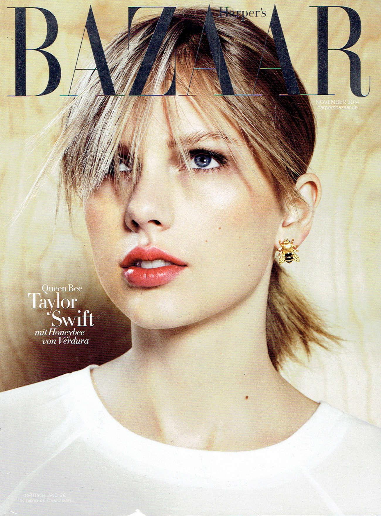 Taylor Swift - Harper's Bazaar Germany Magazine Cover (November 2014)