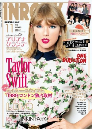 Taylor Swift - InRock Japan Magazine Cover (November 2014)
