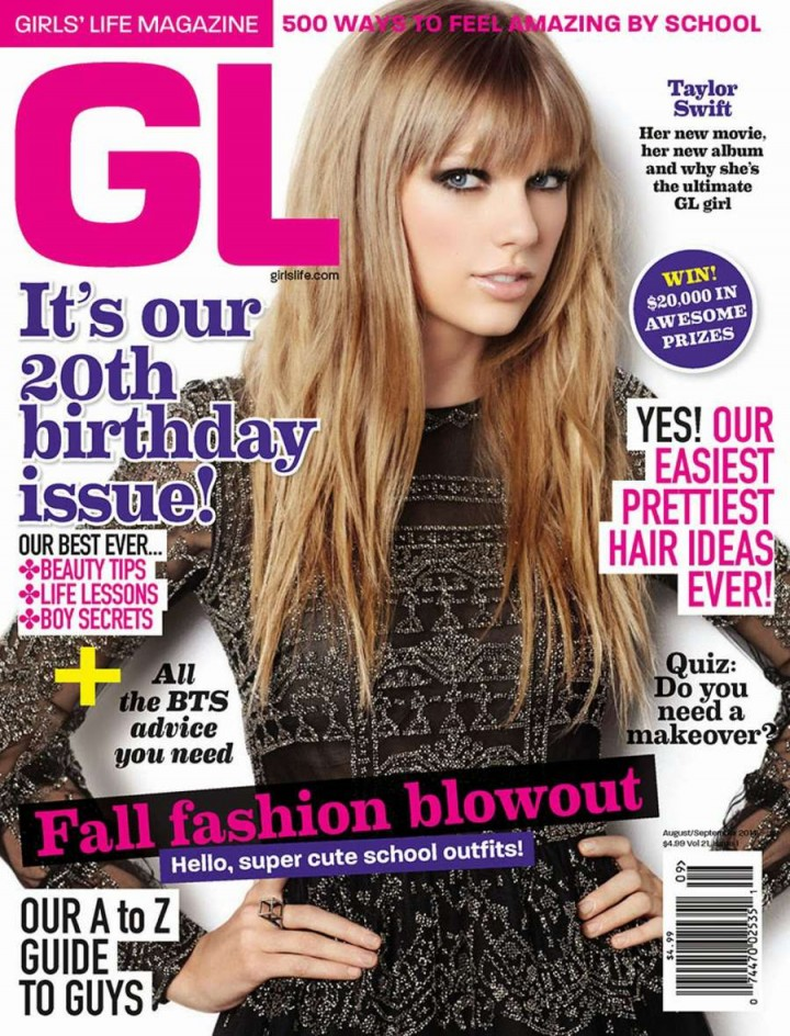 Taylor Swift - Girls' Life Magazine Cover (August/September 2014)