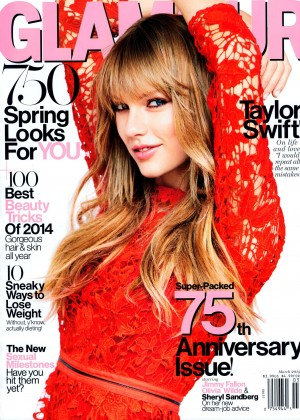 Taylor Swift: Glamour Magazine Cover -01